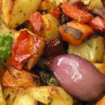 Жареные овощи - рецепт приготовление