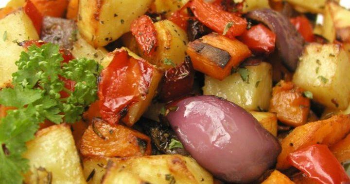 Жареные овощи – рецепт приготовление
