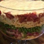 Семислойный салат — рецепт приготовление