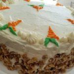 Вкусный Морковный торт - рецепт