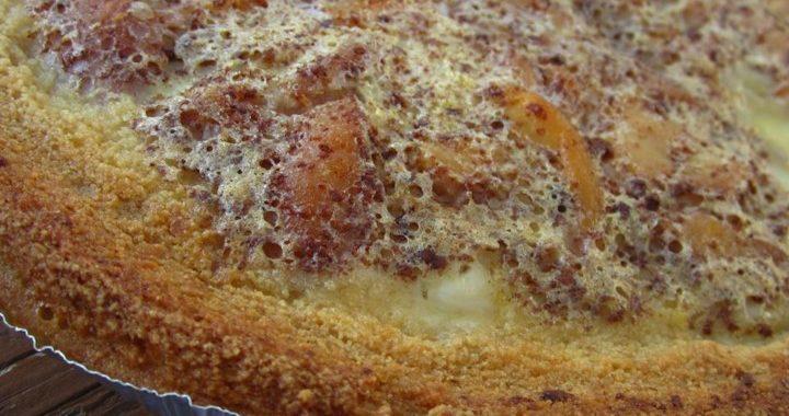 Вкусный пирог с заварным кремом — рецепт