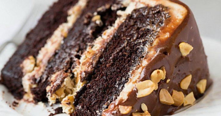 Торт Сникерс – рецепт приготовления