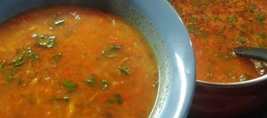 Суп харчо из курицы – рецепт приготовления