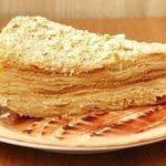 Торт наполеон - рецепт приготовления