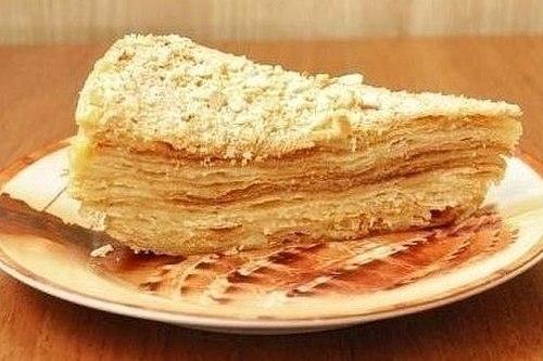 Торт наполеон – рецепт приготовления