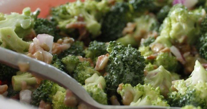 Салат с брокколи – рецепт приготовления