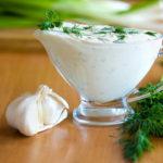 Французский чесночный соус рецепт