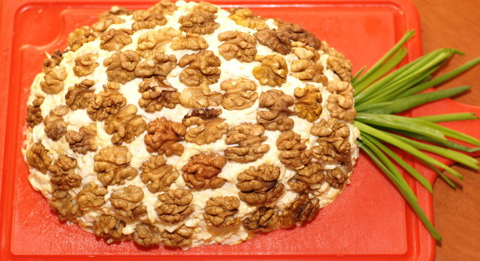 Салат Ананас рецепт приготовления