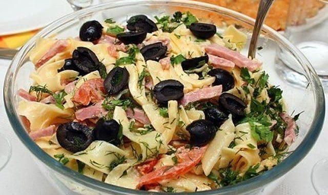 Итальянские салаты – симфония вкуса