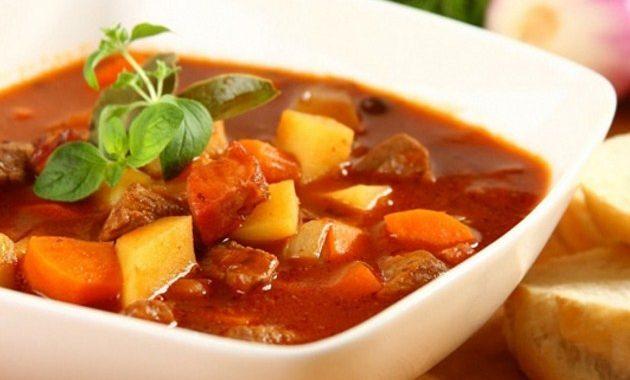 Суп гуляш по венгерски рецепт