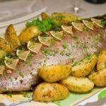 Рыба в духовке рецепт