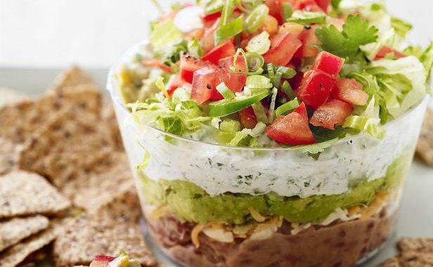 7-слойный салат по-американски