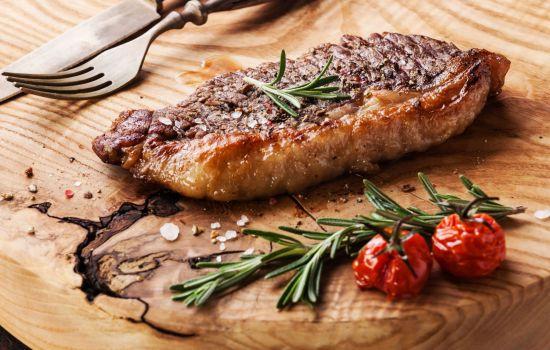 Стейк из говядины рецепт с соусом