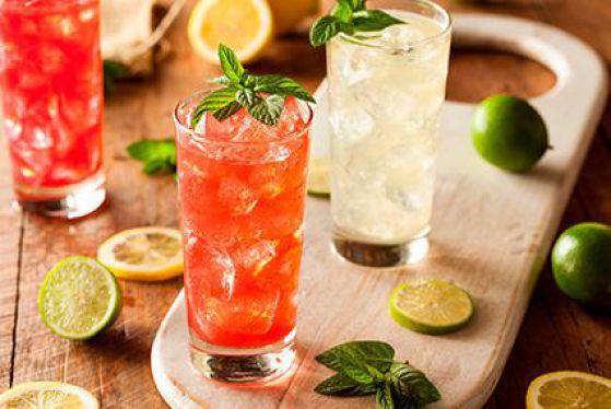 Освежающие коктейли для лета