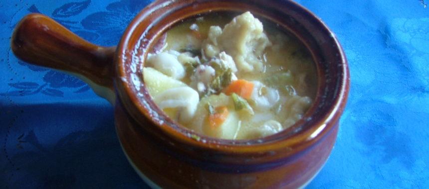Густой суп «Дары Нептуна»