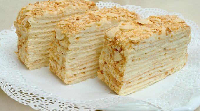 Как быстро приготовить торт Наполеон