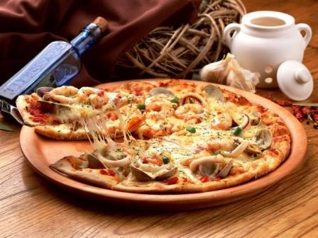 Пицца для любимого мужа