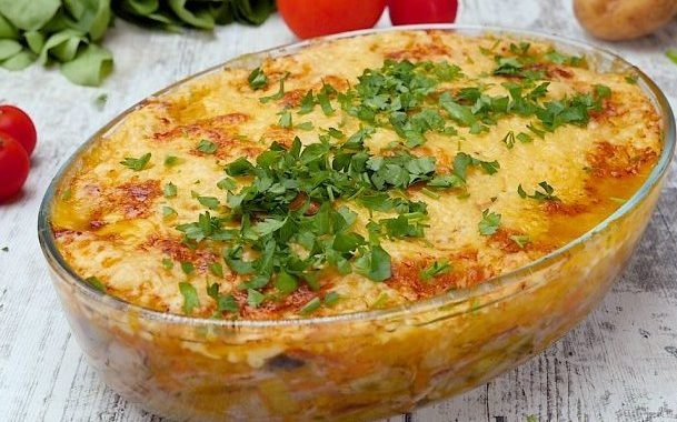 Овощная запеканка рецепт приготовления