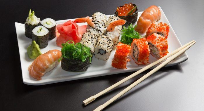 Роллы с красной рыбой рецепт