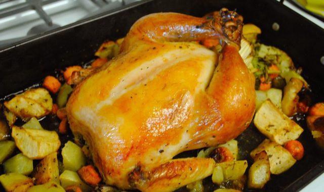 Как зажарить курицу под бройлером?