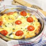 Картофельный омлет рецепт приготовления