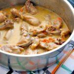 Курица в сметанном соусе рецепт