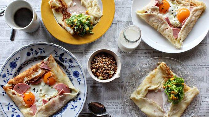 Французский завтрак – Блины-галеты