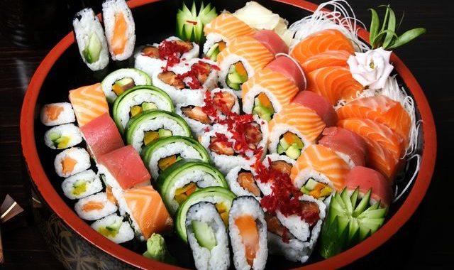 Суши для романтического ужина