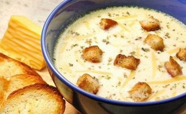 Сырный грибной суп рецепт