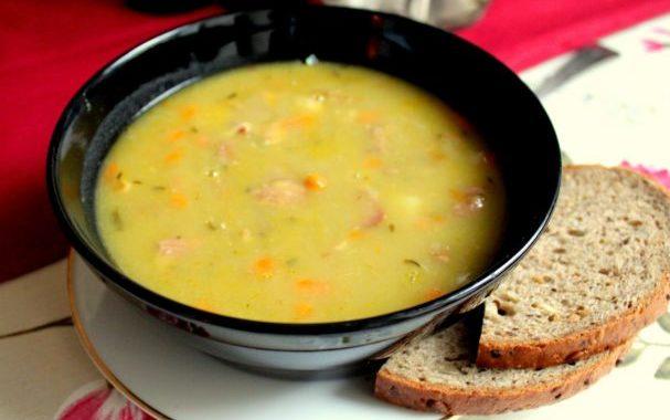 Гороховый суп в мультиварке рецепт