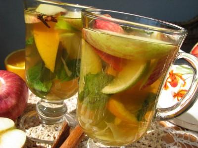 Яблочно-имбирный напиток рецепт