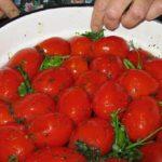Быстрые квашеные помидоры рецепт