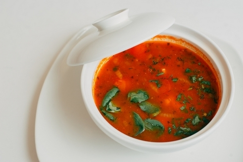 Целебный томатный индийский суп