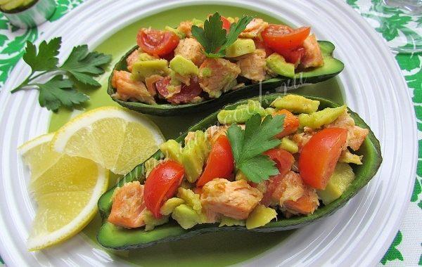 Лодочки из авокадо рецепт приготовления