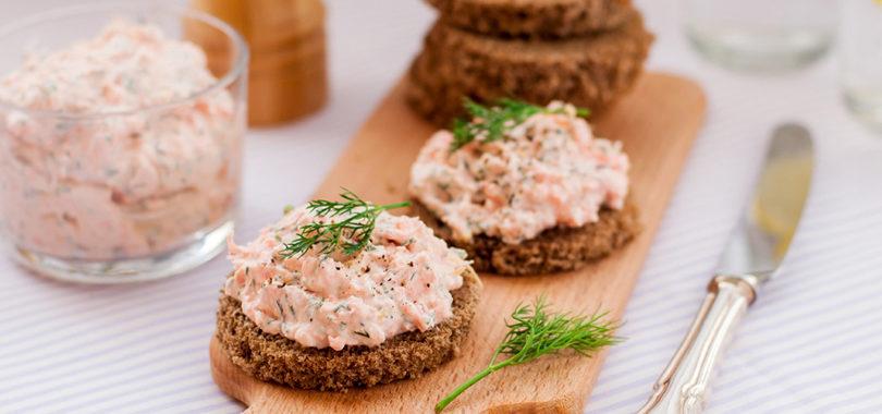 Паштет из лосося рецепт приготовления