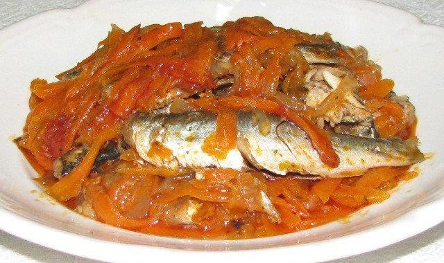 Домашняя килька в томате рецепт