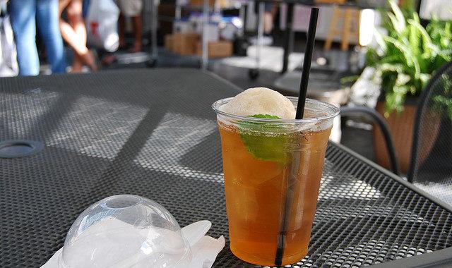 Холодный арбузный чай
