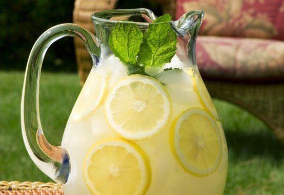 Мятный лимонад рецепт приготовления