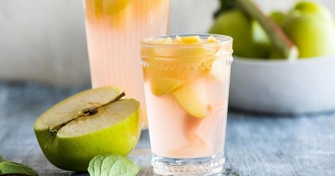 Компот из свежих яблок рецепт