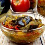 Лечо из баклажанов и кабачков рецепт