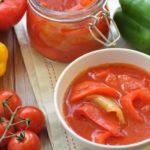 Лечо из болгарского перца рецепт