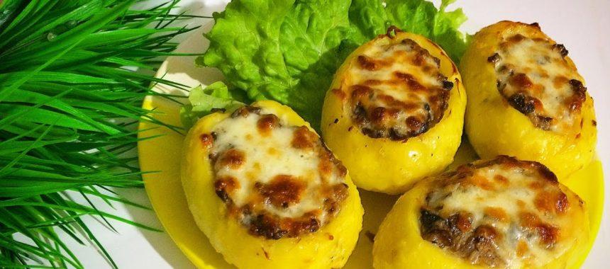 Жульен в картофеле рецепт