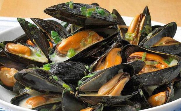 Классические французские мидии рецепт