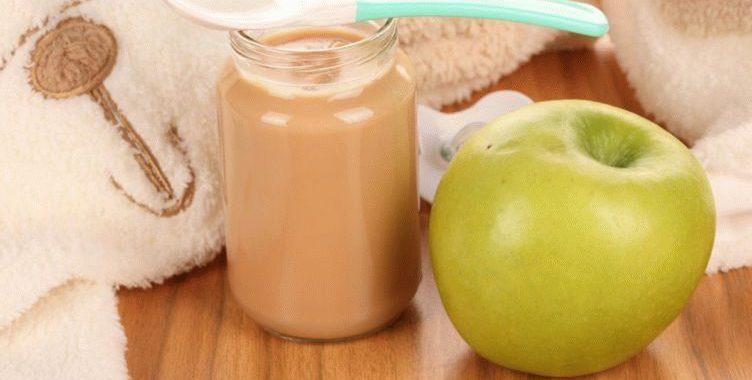 Яблочное пюре для детей на зиму