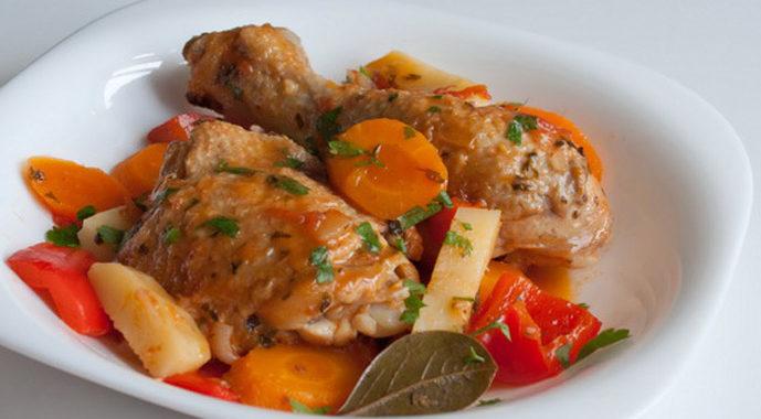 Фрикасе из курицы по-креольски рецепт