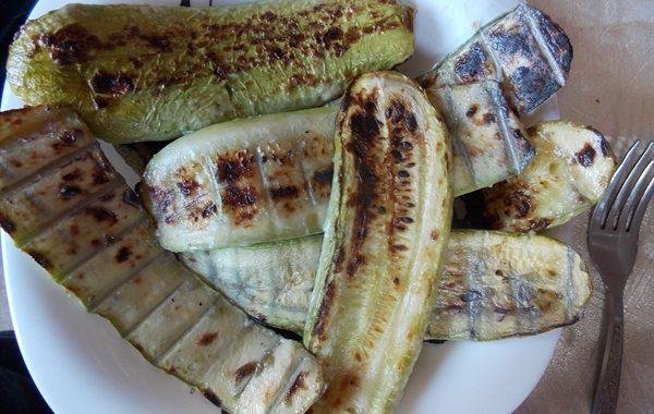 Кабачки на мангале рецепт
