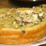 Быстрый пирог с рыбной консервой