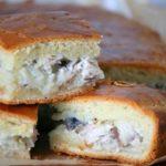 Пирог с рыбной консервой рецепт