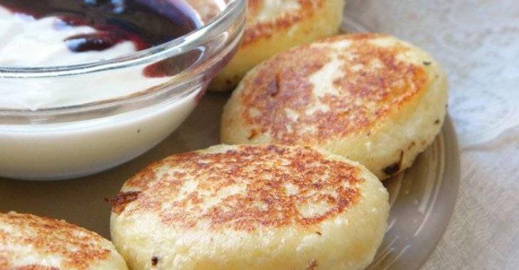 Сырники с вишней рецепт приготовления
