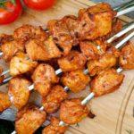 Легкий куриный шашлык рецепт